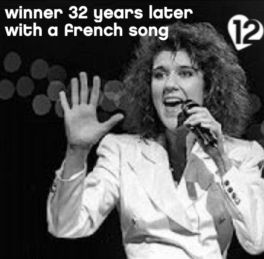 Céline Dion Ne Partez Pas Sans Moi Eurovision Song Contest 1988