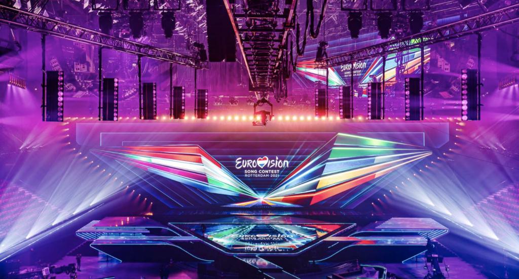 Eurovision Song Contest Stage 2021 Design Florian Wieder Bühne Scene