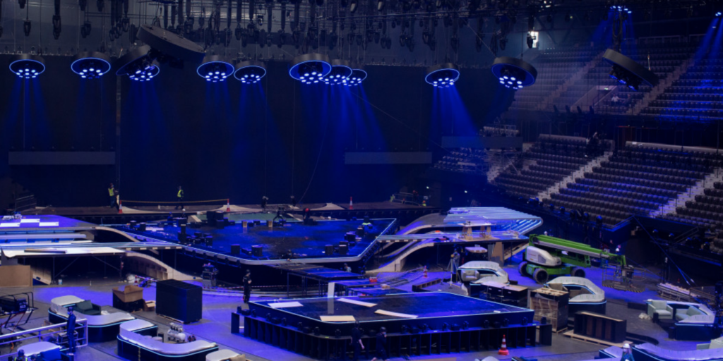 Eurovision Song Contest Stage 2021 Design Florian Wieder Greenroom