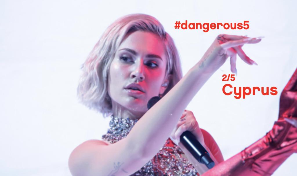 Cyprus Eurovision Song Contest 2021 Elena Tsagrinou El Diablo