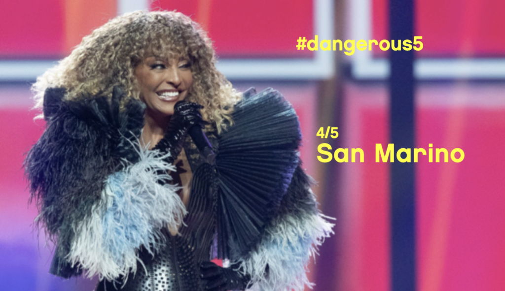 San Marino Senhit Adrenalina Eurovision Song Contest 2021