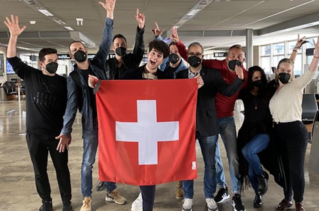 Gjon's Tears Eurovision Song Contest 2021 Switzerland departing to Rotterdam