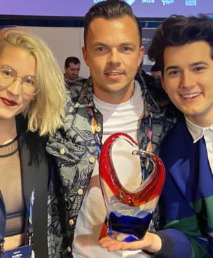 Marcel Bezençon Awards 2021 Switzerland Gjon's Tears Tout l'univers