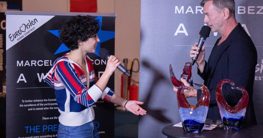 Marcel Bezençon Awards 2021 France Barbara Pravi